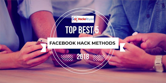 Top Best 5 Ways To Hack Facebook Account Password Online : 2018