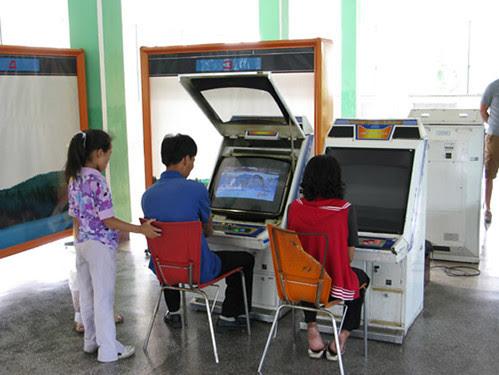 Pyongyang Capital da Coreia do Norte - Diversão eletrônica