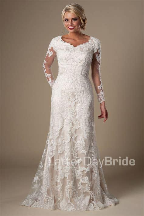167 best Modest wedding dresses images on Pinterest