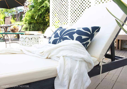 How to Simplistically Create a Spring Deck Update You'll Love - Happy Happy Nester