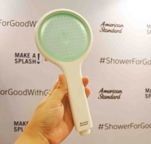 Review GENIE Hand Shower dari American Standard |