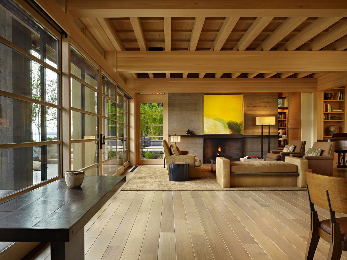 Contemporary House In Seattle With Japanese Influence iDesignArch Interior Design - Japanese Interior Style. Part 1 Homenzyme.com