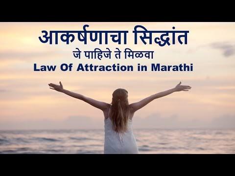 आकर्षणाचा सिद्धांत | Law Of Attraction in Marathi