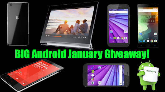 BIG Android January Giveaway!