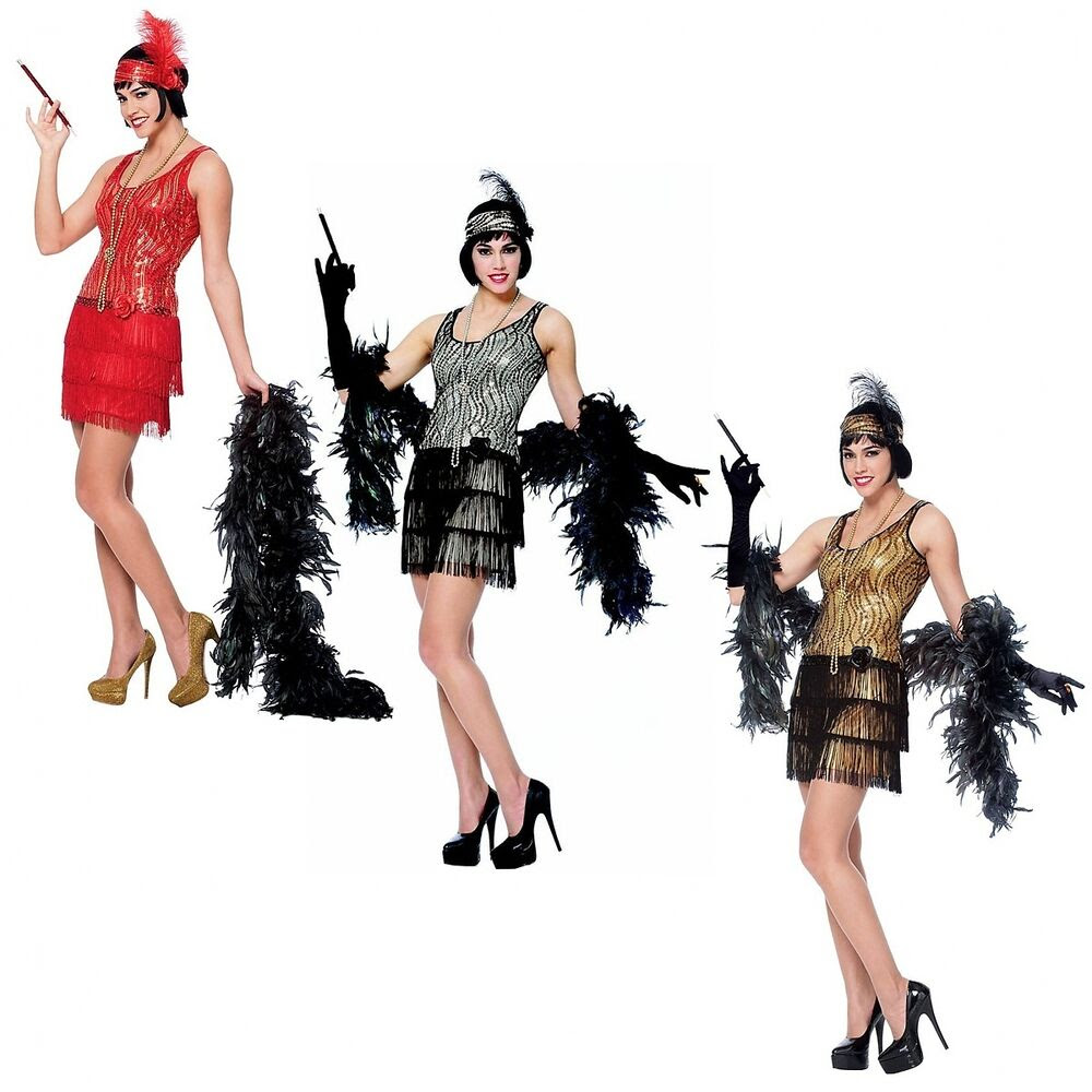 flapper dress adult roaring 20s costumes halloween fancy
