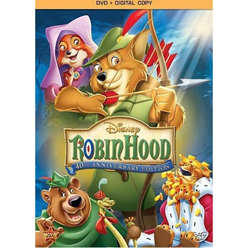 Robin Hood: 40th Anniversary Edition with Digital Copy [DVD]