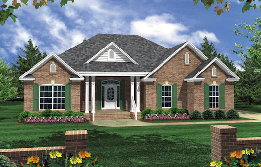 New House Plan HDC-1502M-1 is an Easy-to-Build, Affordable 3 Bed 2 Bath Home Design.
