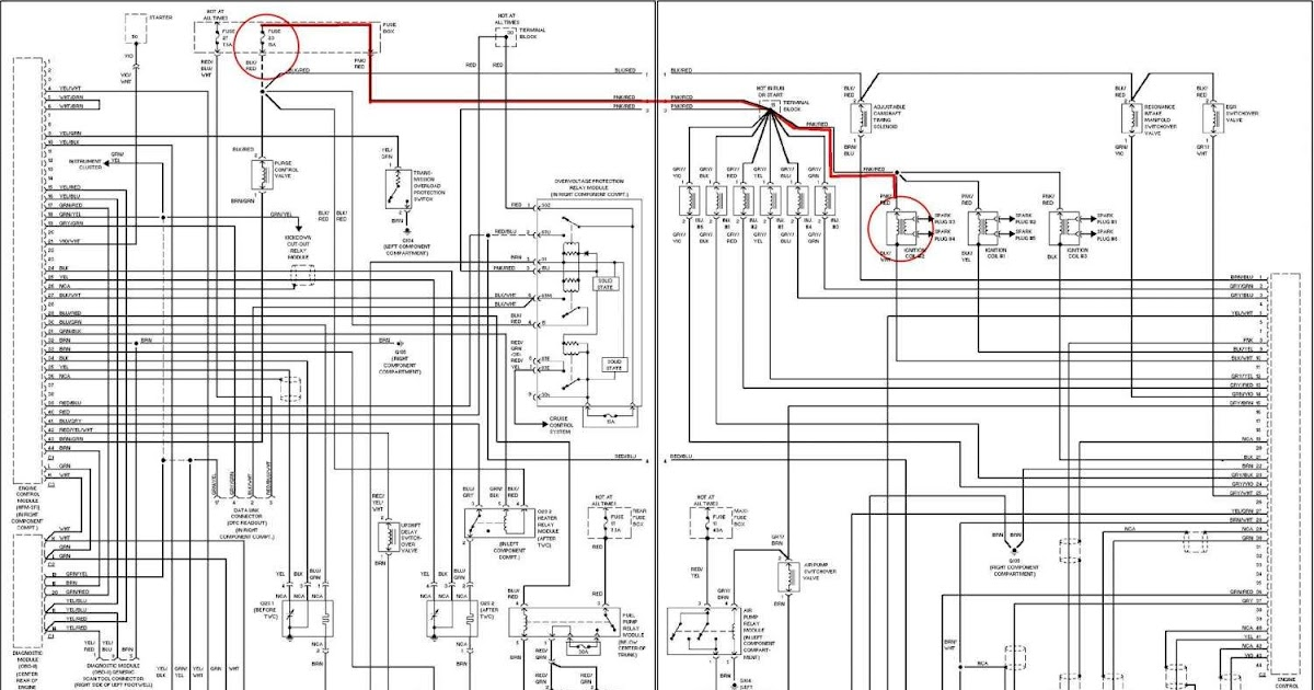 2002 Mercury Sable Radio Wiring Diagram