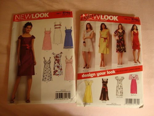 Dress on the left looks awesome but neckline too wide.