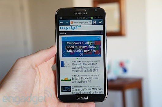 Samsung Galaxy Note II for Verizon: what's different?