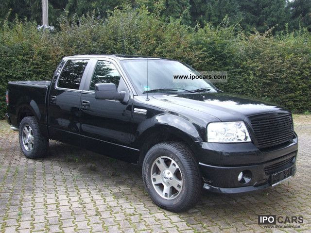 2007 Ford F 150 Triton 54 Leather Trade Car Photo And Specs