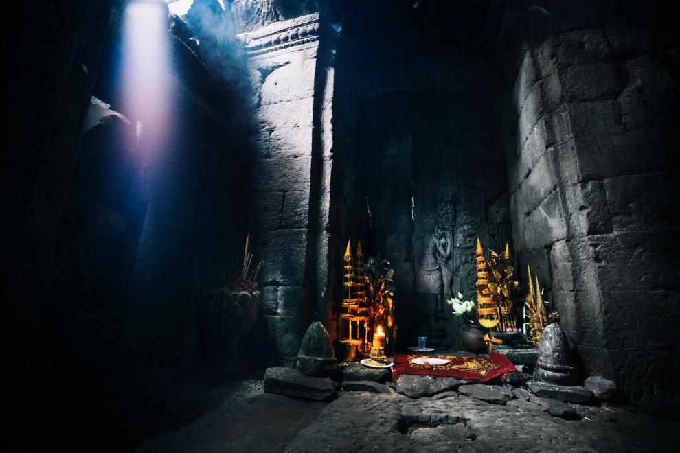 Святиня в храмі Та Пром.