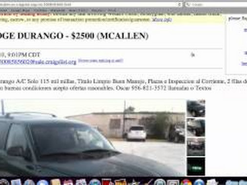 Craigslist Used Car By Owner Edinburg Tx
