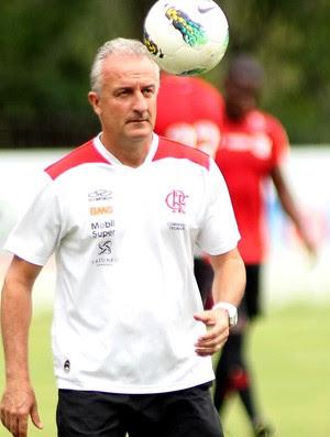 Dorival Junior no treino do Flamengo (Foto: Bernardo Monteiro / VIPCOMM)