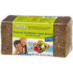 [BB: 10/10/21] Mestemacher Organic Natural Sunflower Seed Bread - 17.6 oz - Single   By Supermarket Italy
