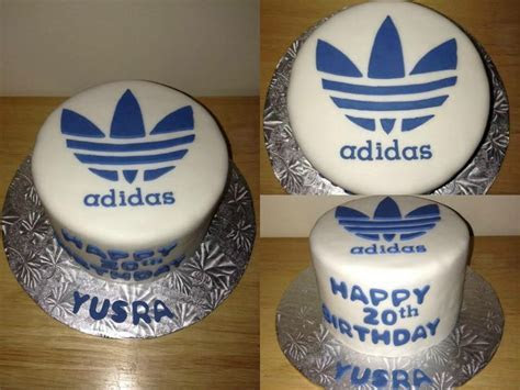 Adidas birthday cake   My Cake Creations   Pinterest