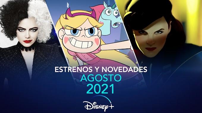 Estrenos y novedades que llegan en agosto 2021 a Disney+ en España