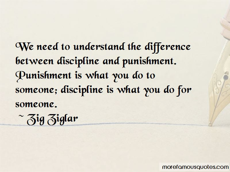 Quotes About Discipline And Punishment Top 27 Discipline And