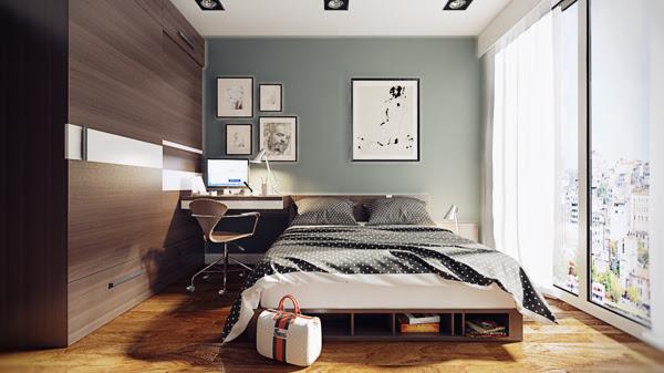 Bedroom Officeinterior Design Ideas