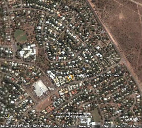 Karama Google Earth