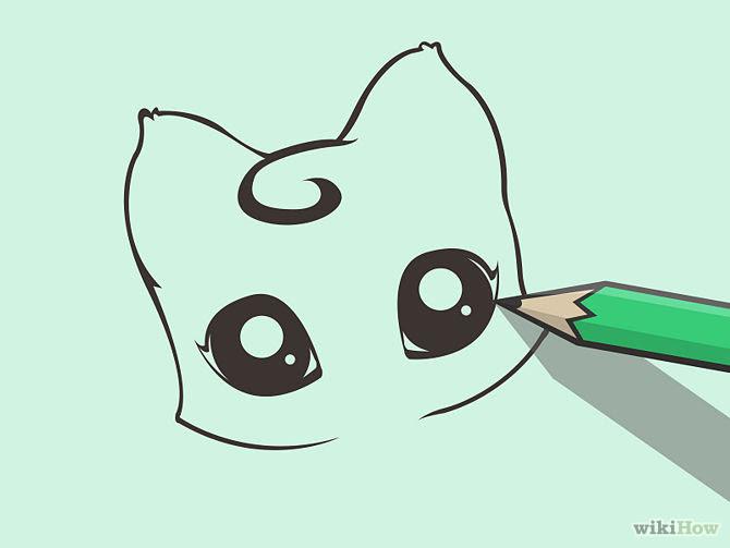 Cool Cartoon Cute Drawing Easy Cat
