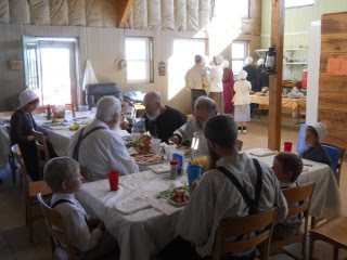 The Community Group During the Meal