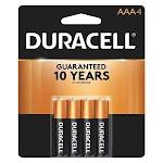 Duracell Mn2400B4Z Battery,alkaline,aaa,premium,pk4