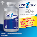 One A Day Men's 50+ Multivitamin (220 Tablets)
