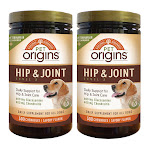 Pet Origins Hip & Joint Level 3 Chewable Tablets for Dogs 300-count, 2-pack