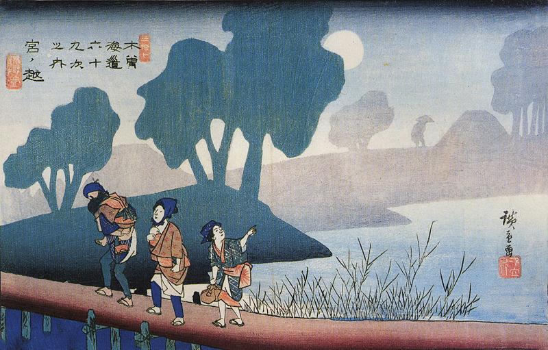 File:Hiroshige, A family in a misty landscape.jpg