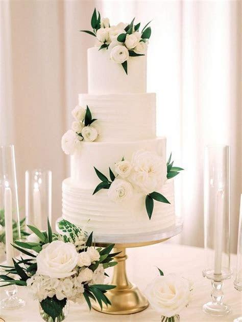 20 Simple Elegant Wedding Cakes for Spring/Summer 2020