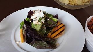 Peach & Ricotta Salad