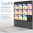Total FX - 40 Actions on Custom Panel