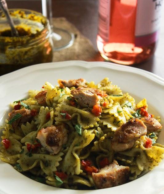 Grilled Chicken Pesto Pasta Food Network