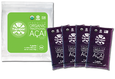 Tambor's Acai Smoothie Packs - Tambor • Keep your Life in Rhythm!