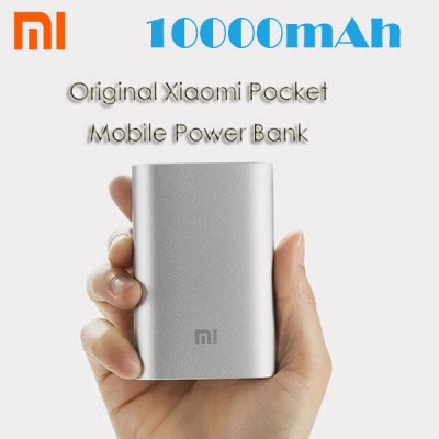 Original Xiaomi Pocket 10000mAh Mobile Power Bank