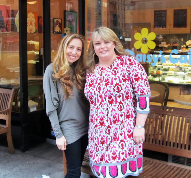 Amy Atlas and I in NYC