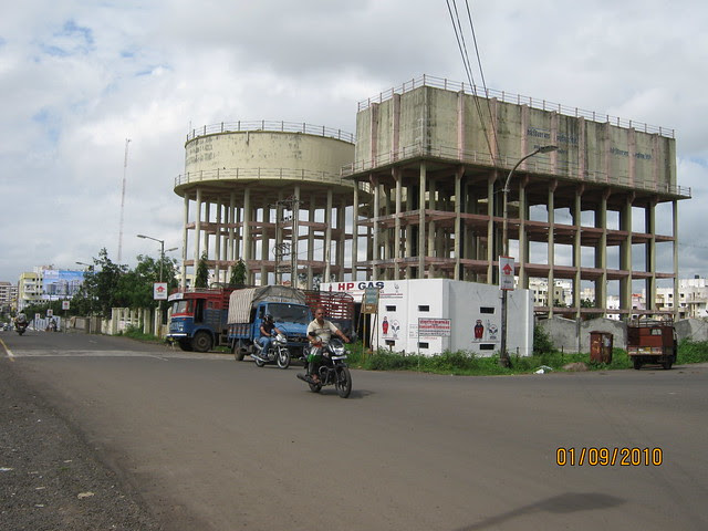 Darode Jog's Westside County Pimple Gurav Pune 411 027 - PCMC water tanks
