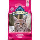 Blue Wilderness Food for Cats, Natural, Adult, Salmon Recipe - 5 lb