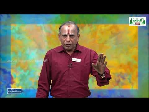 12th Science and Indian Culture Kalvi TV