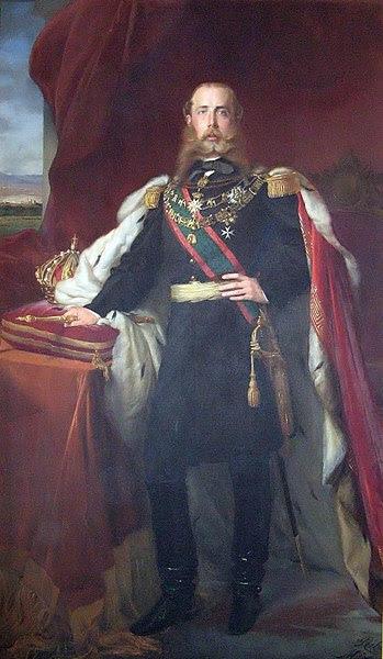 File:Maximilian emperor of Mexico.jpg