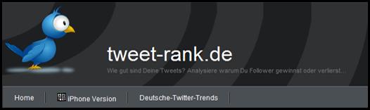 tweet-rank