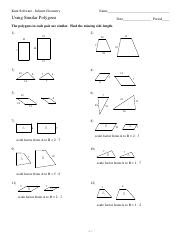 Kuta Software Infinite Geometry Worksheet Answers