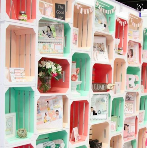 Clever props and styling tips to make your craft fair booth stand out - Jane Means