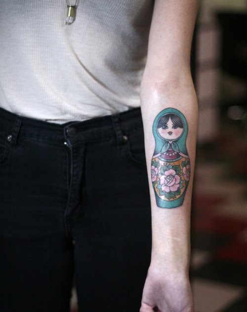 Latest tattoo ideas matryoshka tattoo sleeve for Medusa tattoo significato