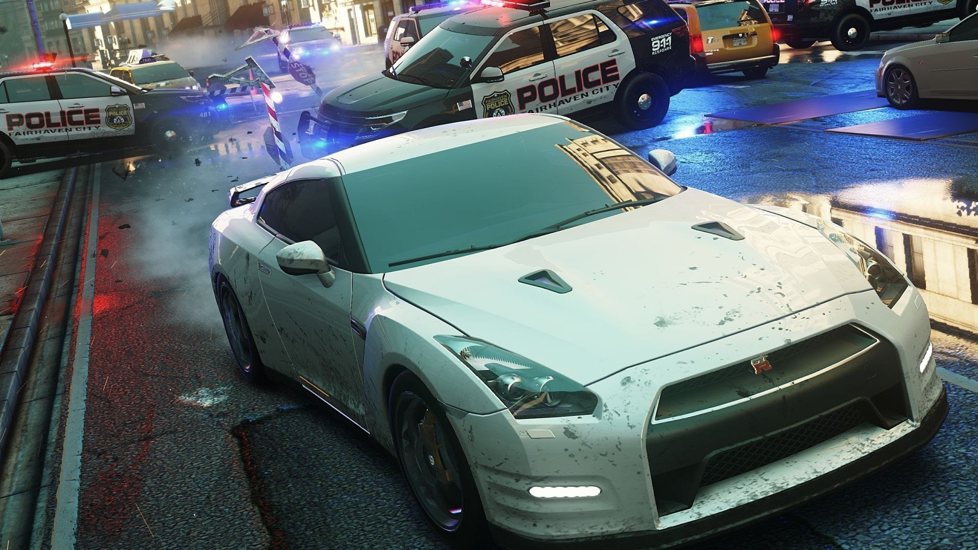 Need For Speed Police Cruiser Nissan Gtr Need For Speed Most