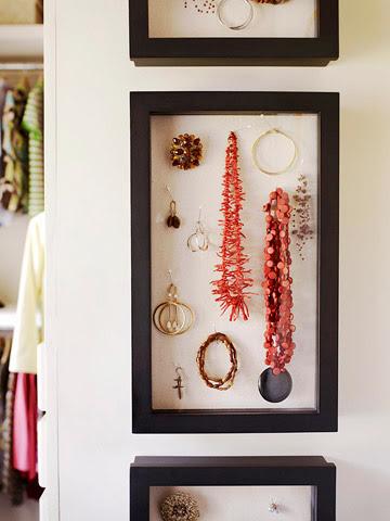 Amanda closet jewelry