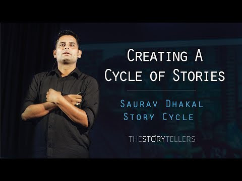 The Story of a Storyteller - Story, Food and Dream
