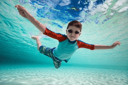 Child Development from Below the Surface