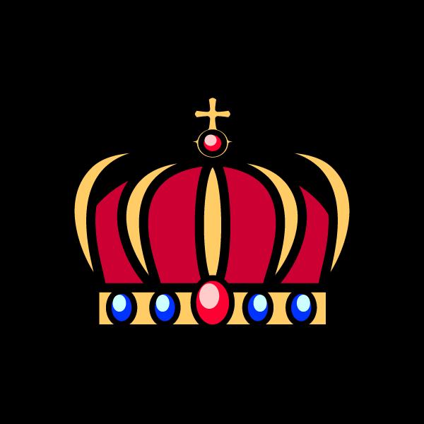 かわいい王冠2の無料イラスト商用フリー オイデ43
